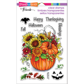 "Fall Arrangement - Stampendous Perfectly Clear Stamps 7.25""X4.625"""
