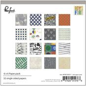 Boys Fort 6 x 6 Paper Pack - Pinkfresh
