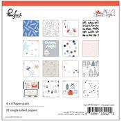 December Days 6 x 6 Paper Pack - Pinkfresh