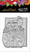 "Kindred Hoiday - Stampendous Laurel Burch Cling Stamp 6.5""X4.5"""