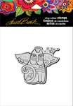 "Cat Angel - Stampendous Laurel Burch Cling Stamp 6.5""X4.5"""