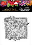 "Holly Cat - Stampendous Laurel Burch Cling Stamp 6.5""X4.5"""