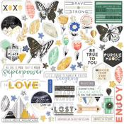 Escape The Ordinary Cardstock Die-cuts - Pinkfresh