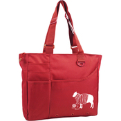 "Red - Knit Happy Unwound Sheep Bright Bag 15""X13""X4"""