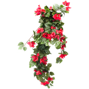 Red - Hanging Bouganvilla X282, 78 Flowers, 30""
