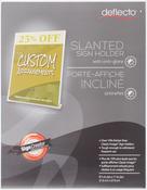 "Slanted Portrait - Anti-Glare Matte Acrylic Sign Holder 8.5""X11"""