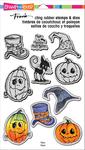 "Halloween Hats - Stampendous Cling Stamp & Die Set 9""X5.25"""