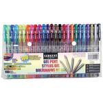 Assorted - Sargent Art Gel Pen Set 100/Pkg