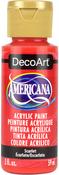 Scarlet - Americana Acrylic Paint 2oz