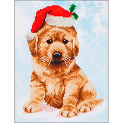 "Christmas Lab - Diamond Dotz Diamond Embroidery Facet Art Kit 12.75""X15.75"""