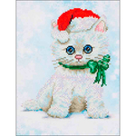 "Chrissy Kitty - Diamond Dotz Diamond Embroidery Facet Art Kit 12.75""X15.75"""