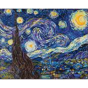 "Starry Night (Van Gogh) - Diamond Dotz Diamond Embroidery Facet Art Kit 23""X19"""