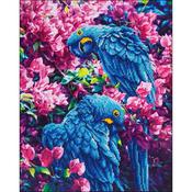 "Blue Parrot - Diamond Dotz Diamond Embroidery Facet Art Kit 23.5""X17.75"""