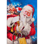 "Santa's Secret - Diamond Dotz Diamond Embroidery Facet Art Kit 37.25""X43.5"""