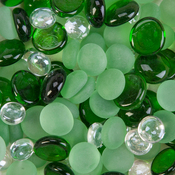 Emerald - Decorative Gem Mix 12oz