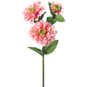 Pink - Zinnia Spray X3 24""