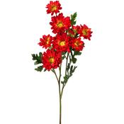 """Red - Daisy Spray X7 + 3 Buds 25"""""""