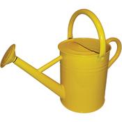 Sunshine Yellow - Galvanized Steel Watering Can 1-Gallon