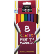 Classic Fine Tip Markers 8/Pkg