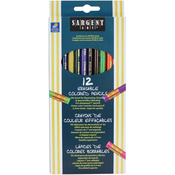 Erasable Colored Pencils 12/Pkg
