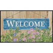 """Welcome - Door Mat 18""""X30"""""""