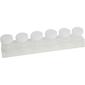 6 Cups - Paint Storage Tray W/6 Bottles