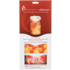 """Fall Skeleton Leaves - Candle Wrap 3.5""""X5"""" 2/Pkg"""