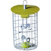 """8.9""""H x 9.1""""W x 9""""D - The Nuttery Roundhaus Seed Feeder"""