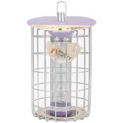 """13.2""""H x 9.1""""W x 9""""D - The Nuttery Roundhaus Thistle Feeder"""