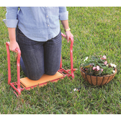 Pink/Orange - Gardman Foldaway Garden Kneeler & Seat