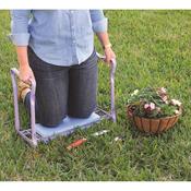 Lavender/Blue - Gardman Foldaway Garden Kneeler & Seat
