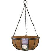 "12"" - Georgian Hanging Basket W/Coco Liner"