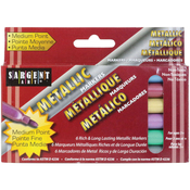 Liquid Metals Medium Point Markers 6/Pkg