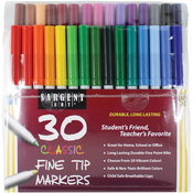 Classic Fine Tip Markers 30/Pkg