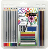 Colored Pencil Drawing Set 20/Pkg