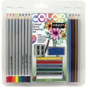Colored Pencil Drawing Set 20/Pkg