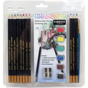 Watercolor Pencil Drawing Set 19/Pkg