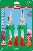 """Clauss Bypass Pruner & 7.5"""" Floral Cutter Set"""