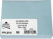 Light Blue - A2 Envelopes 50/pkg
