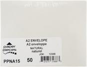 Natural - A2 Envelopes 50/pkg