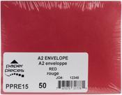 Red - A2 Envelopes 50/pkg