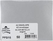 Silver Metallic - A2 Envelopes 50/pkg