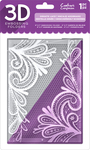 """Ornate Lace - Crafter's Companion 3D Embossing Folder 5""""X7"""""""