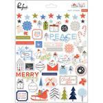 December Days Puffy Stickers - Pinkfresh