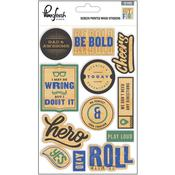 Boys Fort Screen Printed Wood Stickers - Pinkfresh