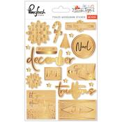 December Days Foiled Stickers - Pinkfresh