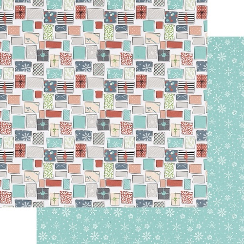 All Wrapped Up Paper - Holiday Hustle - Fancy Pants - PRE ORDER