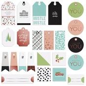 Hustle & Bustle Tags & Labels - Fancy Pants