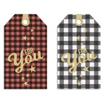 Holiday Hustle Gift Tags - Fancy Pants