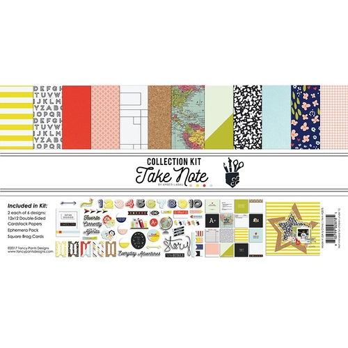 Take Note Collection Kit - Fancy Pants - PRE ORDER